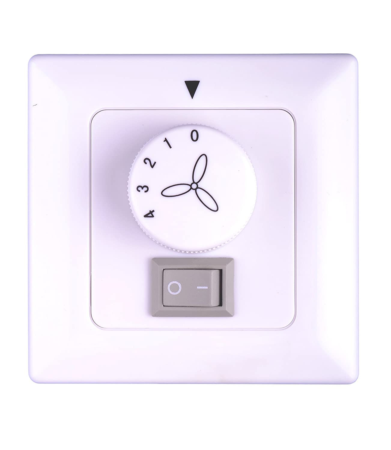 Pepeo Wall Control for Ceiling Fans without Light - Flush mount, white 85215