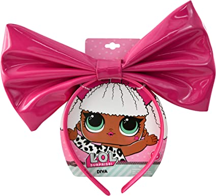 LOL Surprise doll accessories red bow head wrap