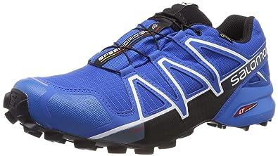 Website für Rabatt neue auswahl Super Specials Salomon Herren Speedcross 4 GTX, Trailrunning-Schuhe, Wasserdicht, blau  (sky diver/indigo bunting/black) Größe 48