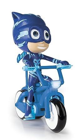 IMC Toys PJ Mask Bicicleta acrobática gattoboy RC, 273016pj