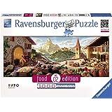 Ravensburger 15071 - Food Edition: Puzzle Veggie Skyline di Londra, 1000 Pezzi Panorama