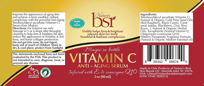 Amazon.com: Vitamina C (20%) Serum, potente y calidad ...