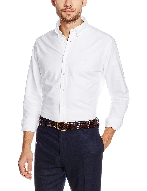 Hackett London Slim Washed Oxford Camisa para Hombre