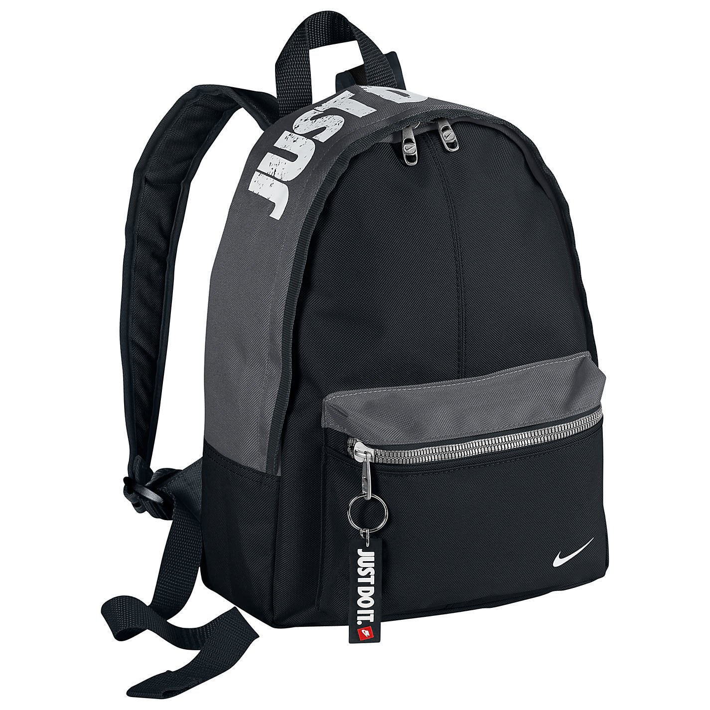 Nike Mini Backpack Black and Grey, Ideal for when you're