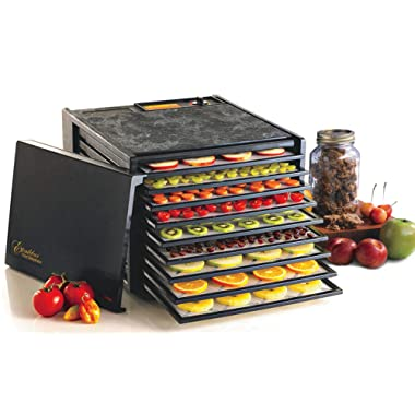 Excalibur Food 3900B 9 Tray Deluxe Dehydrator, Black