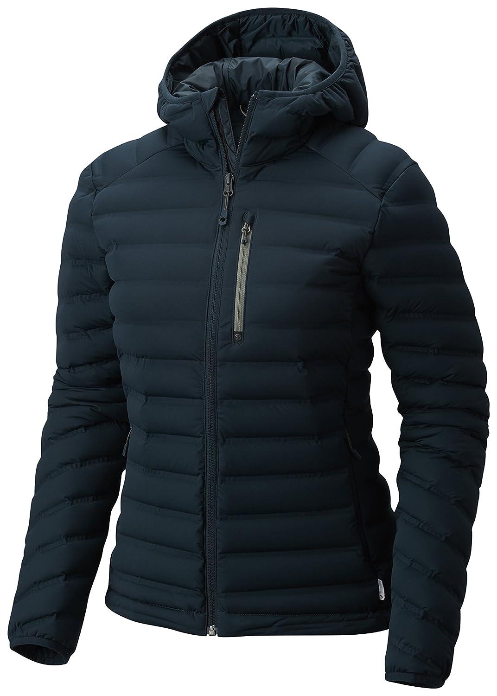 blueee Spruce XLarge Mountain Hardwear StretchDown Hooded Jacket  Women's