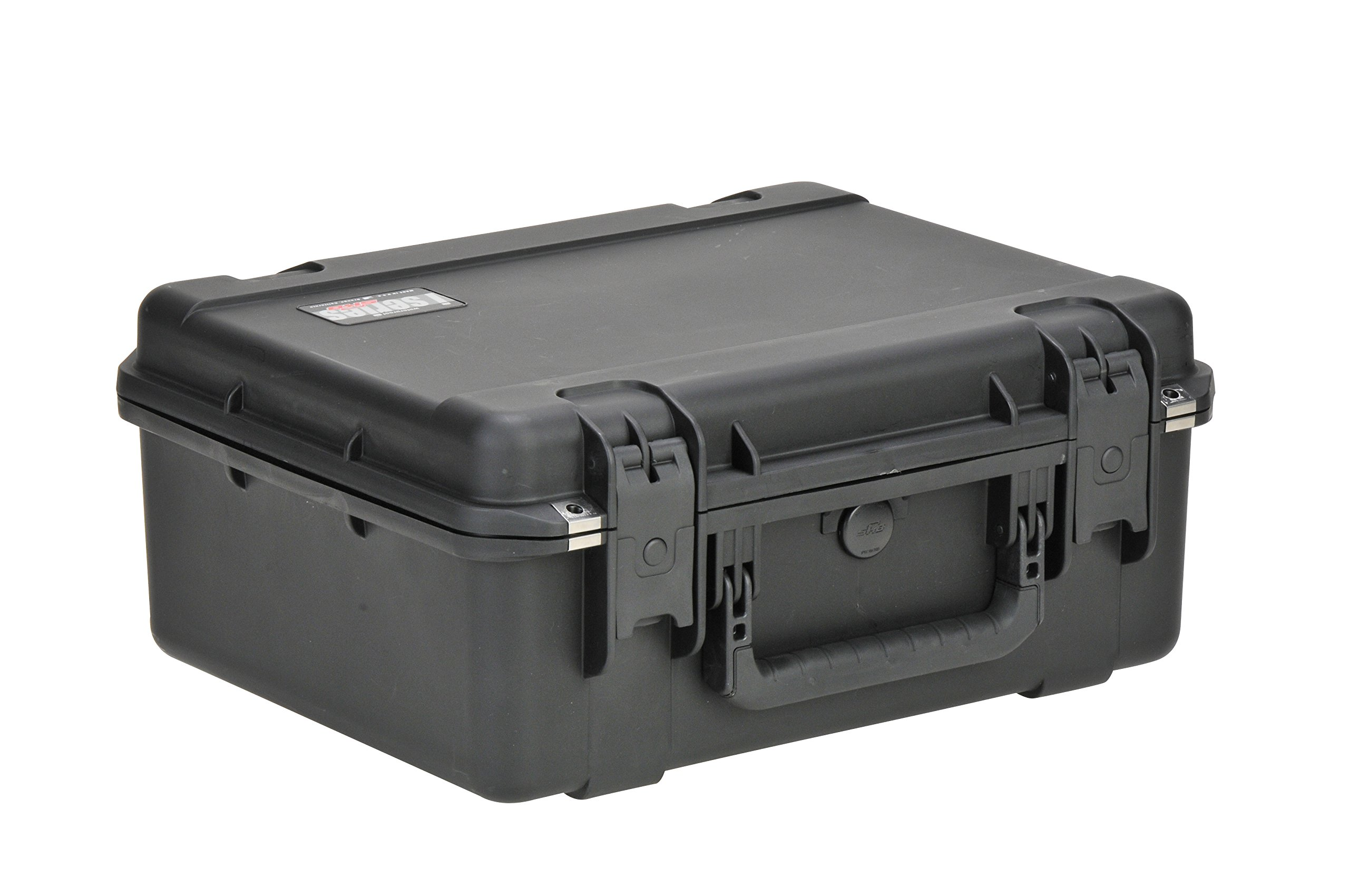 SKB Injection Molded Water-tight Case 19 x 14 ¼ x 8 Inches with Gray Dividers (3I-1914N-8B-D)