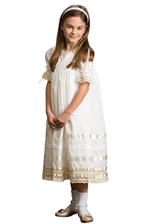 eaa3688b1b Strasburg Children Lace Flower Girl Dress Vintage Heirloom Birthday  Portrait Little Girls Dresses