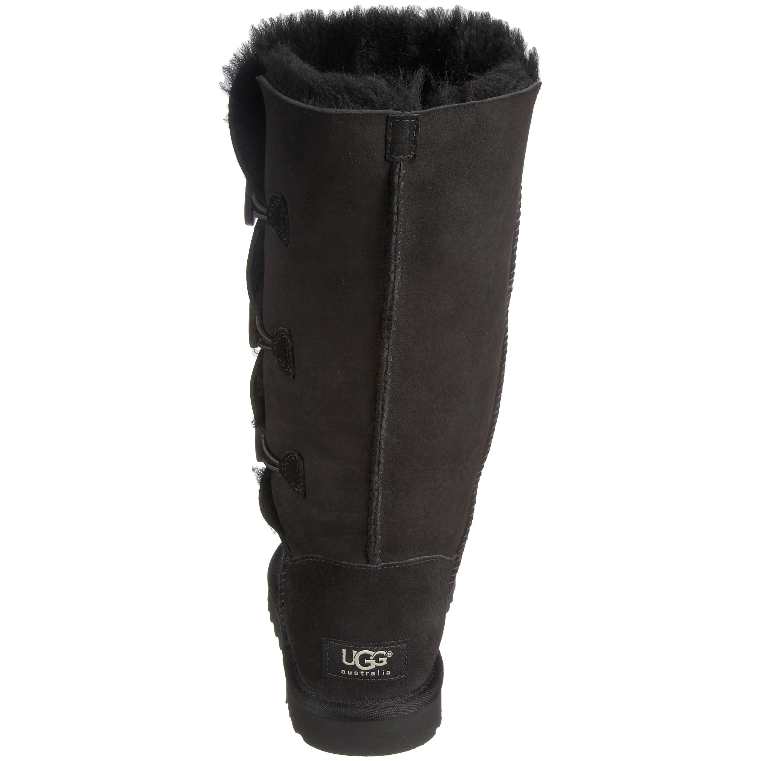 Ugg Women's Bailey Button Triplet Boot, Black, 6 M US by UGG (Image #2)