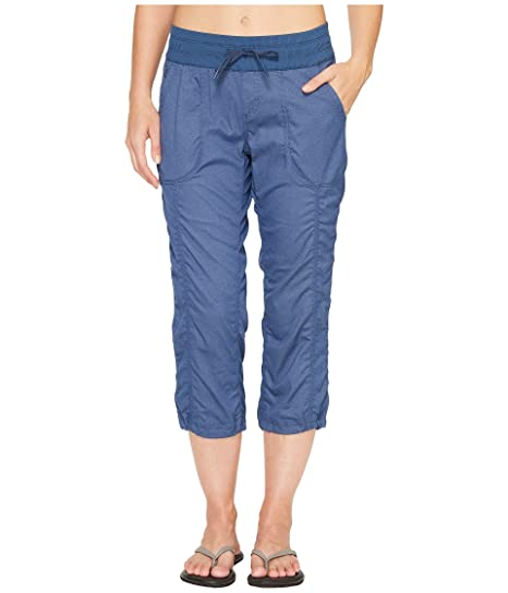 d463a0bee Amazon.com: The North Face Women's Aphrodite 2.0 Capri Pants Shady Blue  Heather XS: Sports & Outdoors