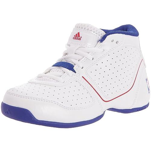 adidas Thorn Lt NBA K - Zapatillas Baloncesto Niños, Blanco (Blanc/Rouge/Bleu), 32: Amazon.es: Zapatos y complementos