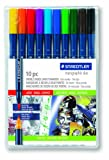 Amazon Price History for:Staedtler Marsgraphic Duo Brush Markers, 3000WP10