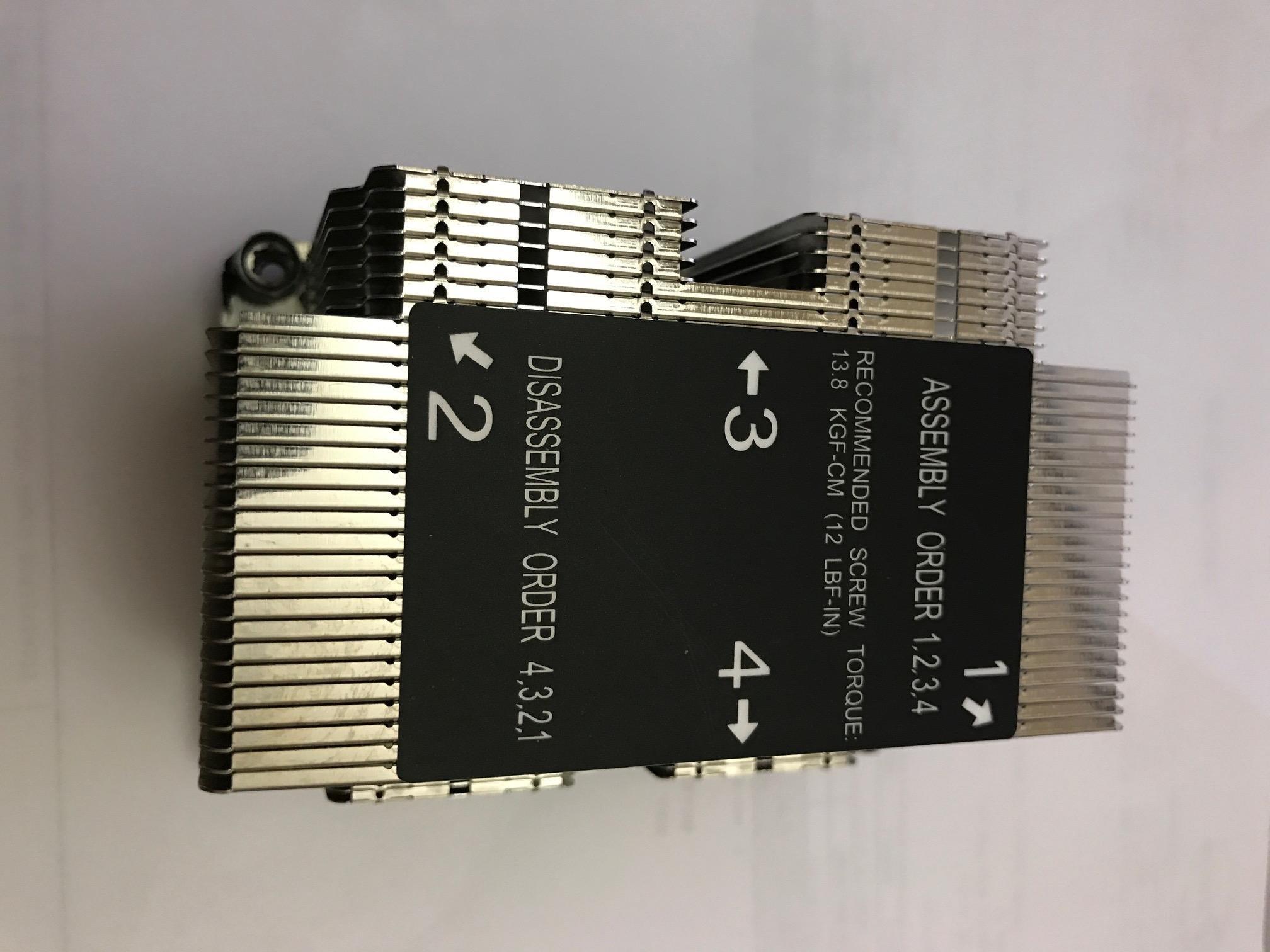 Supermicro SNK-P0068PSC LGA 3647-0 2U &UP X11 Purley Platform CPU Heat Sink