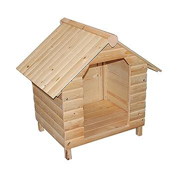 Caseta para perros Perros Box Perros Casa cabaña Caja impermeable 64 x 74 x 76 cm: Amazon.es: Productos para mascotas