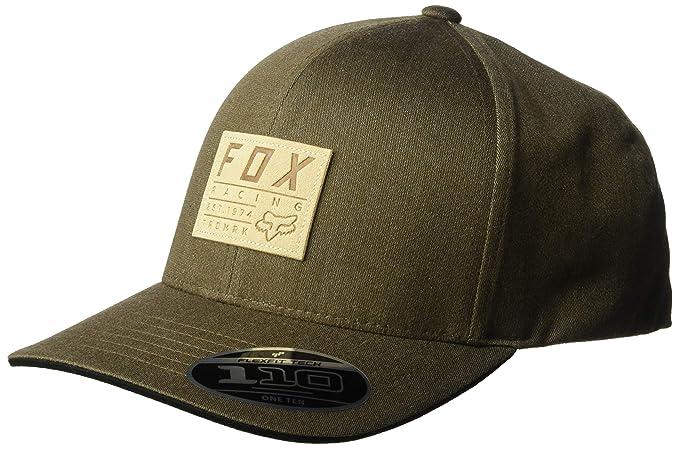outlet store 89255 ba6c8 Fox Men s TRDMRK 110 Snapback HAT Baseball Cap, Bark, One Size