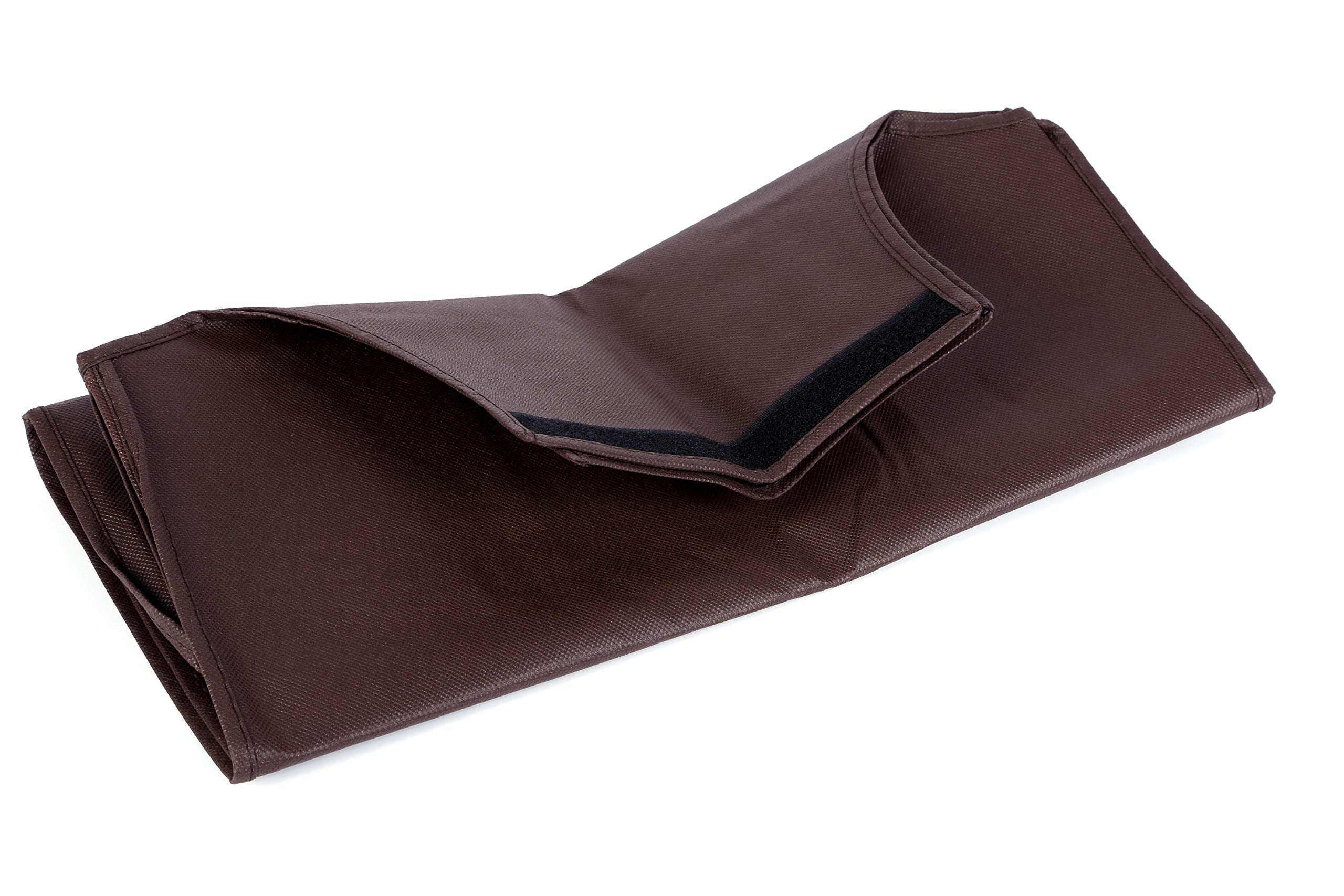 Non-elastic Suitcase Cover Waterproof Luggage Cover,3 Colors,Fits 24 Inch,Brown by CXGIAE (Image #4)