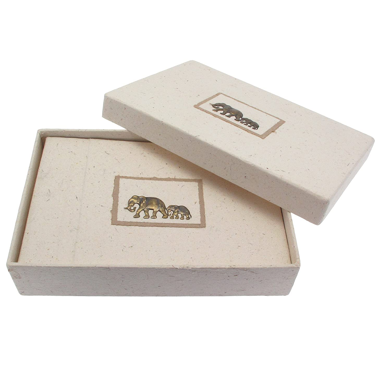 Fair Trade album portafotografie di sterco di elefante 220 x 150 mm Paper High EPA3