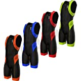 SparX Mens Performance Triathlon Suit Race Tri Suit 2 Pockets UV Protective Italian Fabric | Swim-Bike-Run | Trisuit