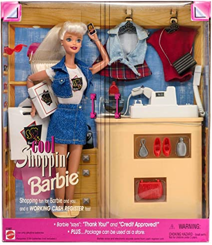 Amazon Com Mattel Cool Shoppin Barbie Toys Games