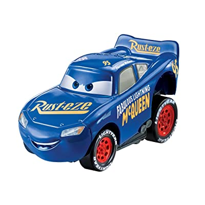 Disney Pixar Cars 3 Revvin' Action Fabulous Lightning McQueen Vehicle: Toys & Games