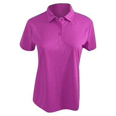 b51bf73f1510 AWDis Cool Damen Poloshirt   Polo-Shirt, taillierte Passform  Amazon.de   Bekleidung