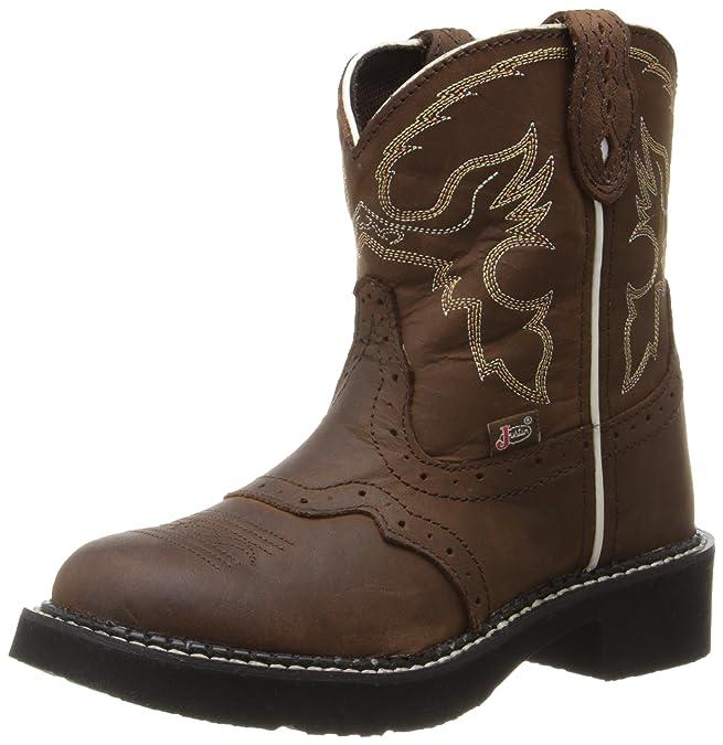7769eb6f2 Justin Boots - Botas para niño Marrón Aged Bark Cowhide  Amazon.es  Zapatos  y complementos