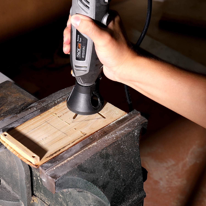 Zubeh/ör-Set und 4 Vorsatzger/äte gro/ße Leistung ideal f/ür Heimwerkerarbeiten Tacklife RTD36AC Multifunktionswerkzeug 200 Watt mit 61-tlg inkl. Werkzeugkoffer, Leerlaufdrehzahl: 10000-40000 U//min