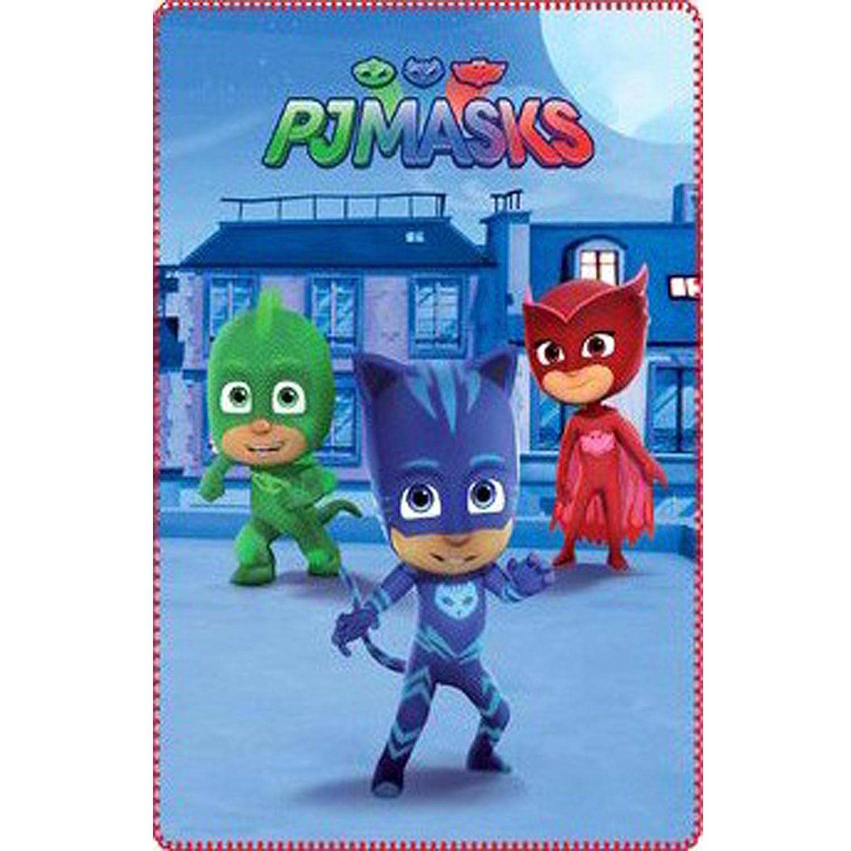 PJ Masks Les Pyjamasques couverture 100x150 cm 100% Polyester www.lefantasiedicasa.com