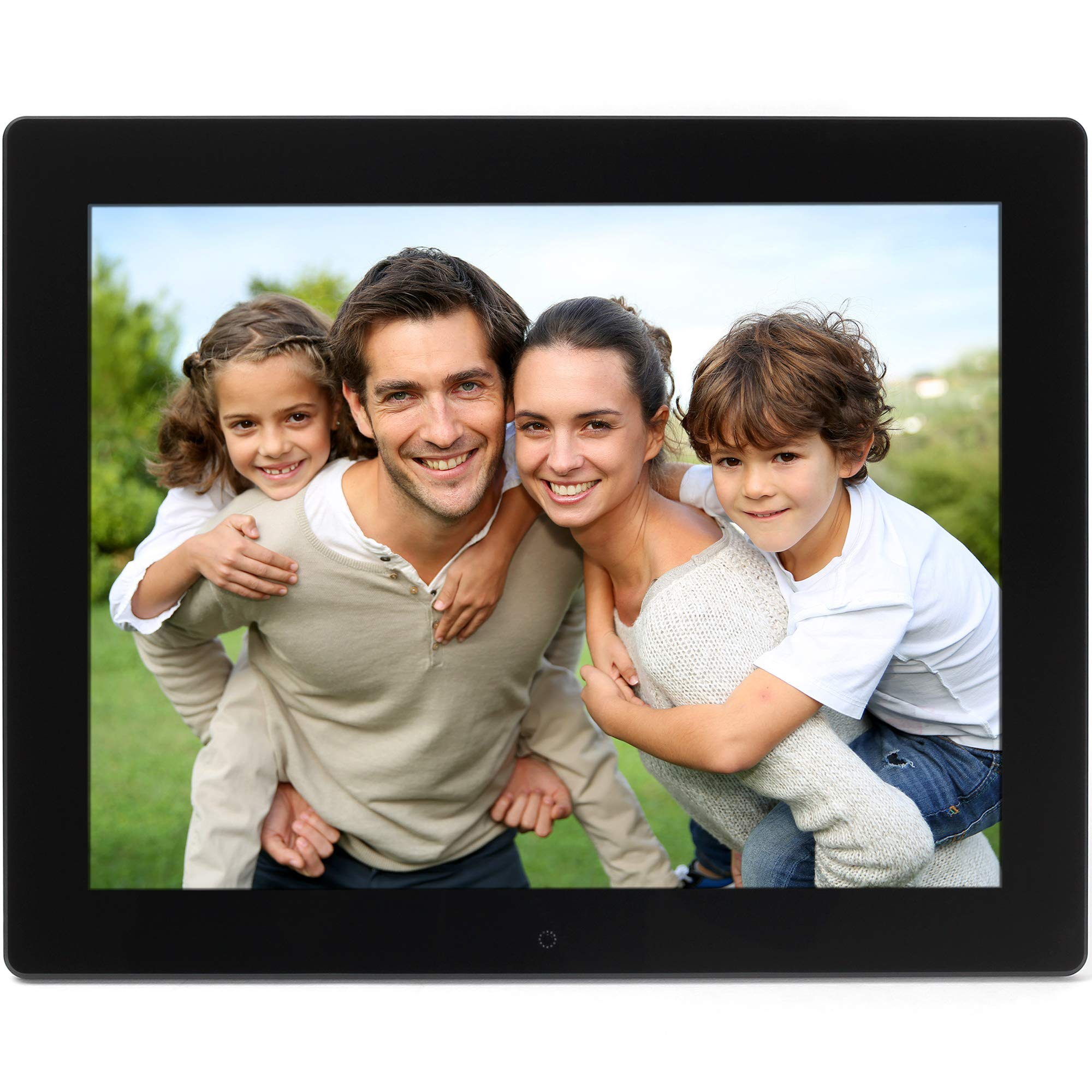 Micca NEO 15-Inch Digital Photo Frame with 8GB Storage, High Resolution LCD,