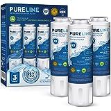 Pureline UKF8001 Water Filter Replacement for Everydrop Filter 4, EDR4RXD1, UKF8001, UKF8001AXX-200, UKF8001AXX-750, Whirlpoo