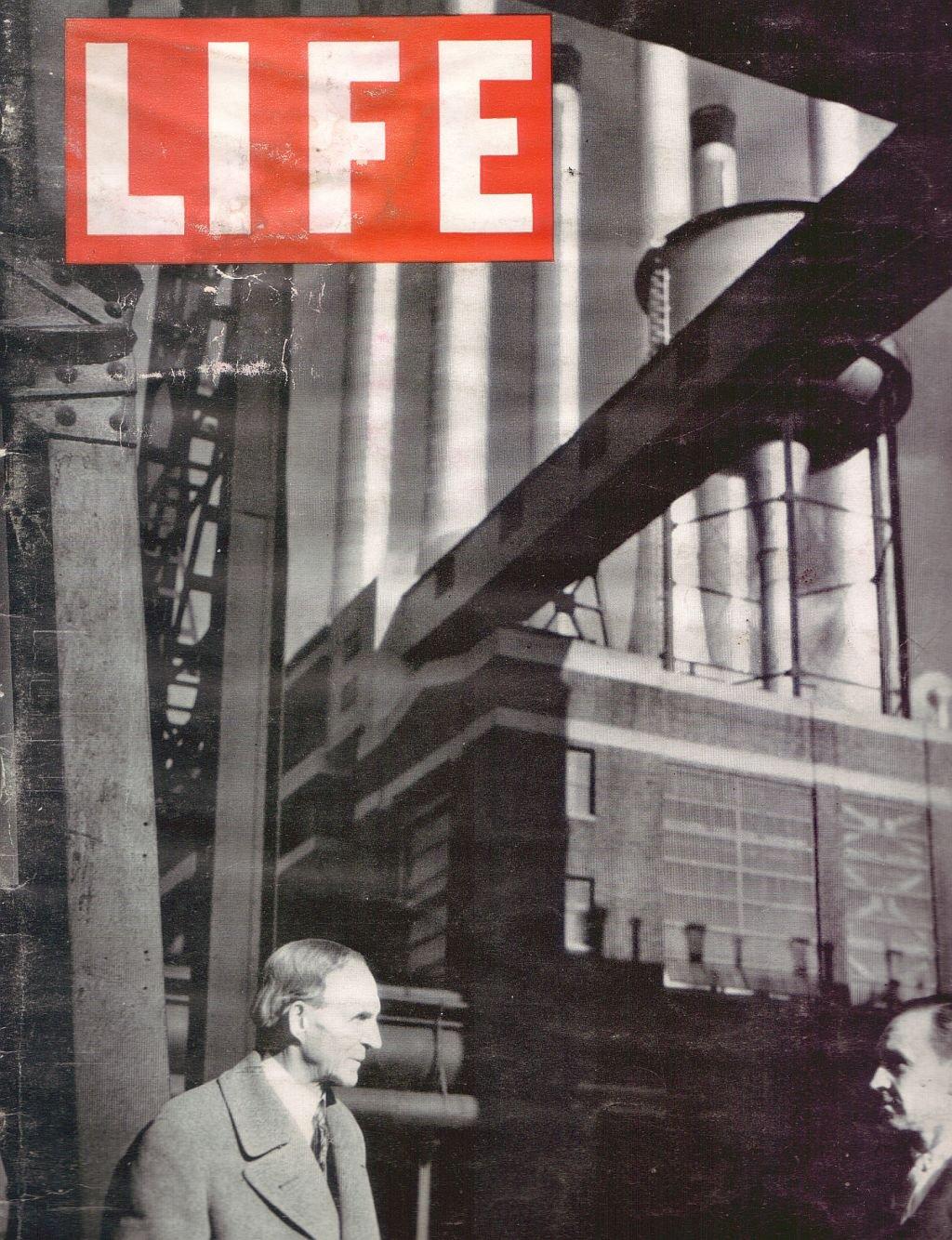 Life 18 Jan 1937 Table Tennis Portland Milk Thief Brad