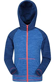 Mountain Warehouse Alpine Fur Lined Kids Full Zip Hoodie