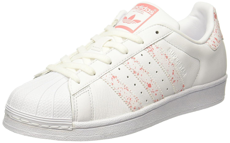 Adidas Superstar W, Zapatillas de Deporte para Mujer 43 1/3 EU|Blanco (Ftwbla/Ftwbla/Rostac)