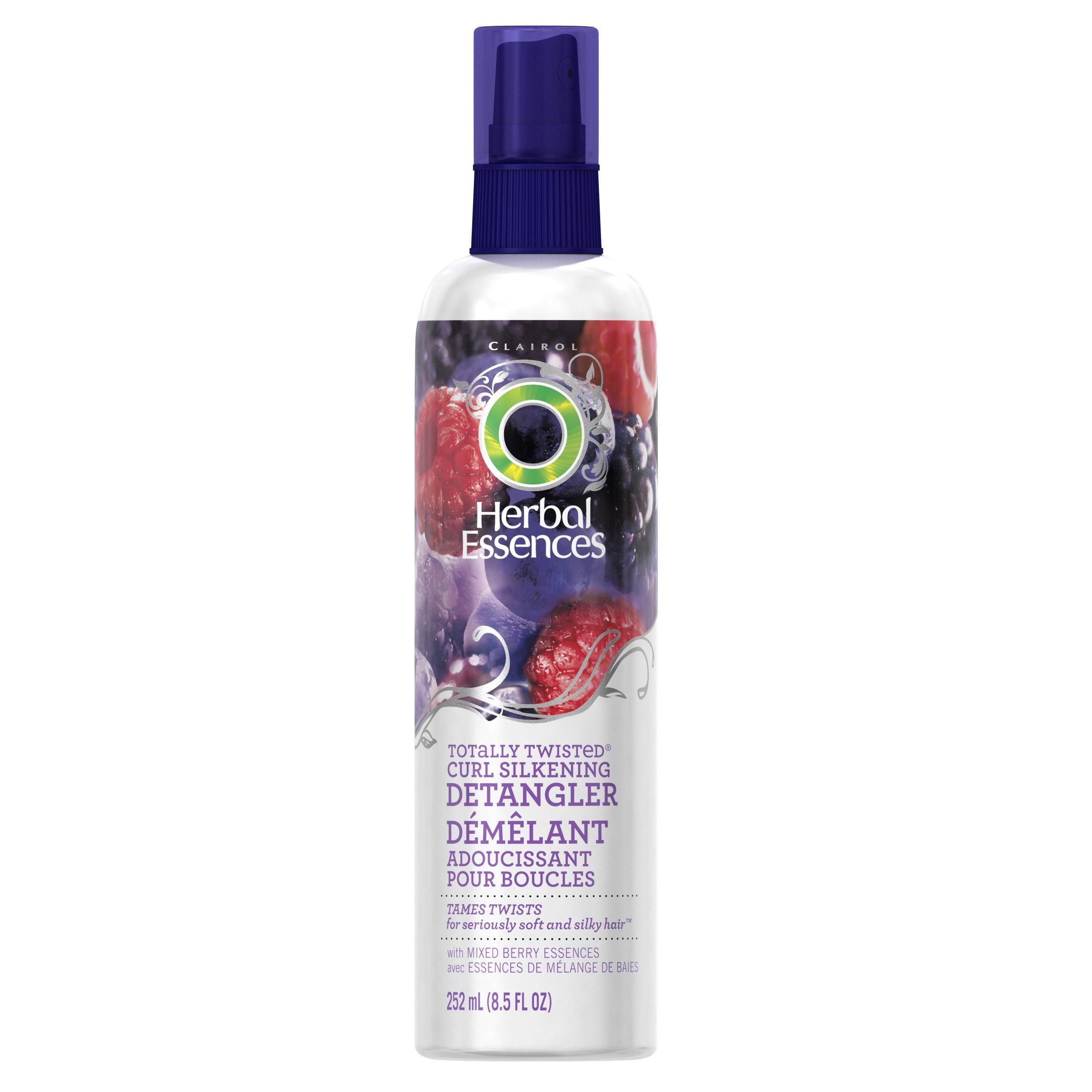 Herbal Essences Totally Twisted Curl Silkening Detangler Hair Care 8.5 Fl Oz