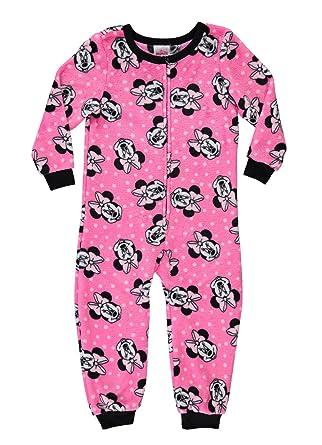 52da42b321 Disney Minnie Mouse Girls Sleeper Onesie