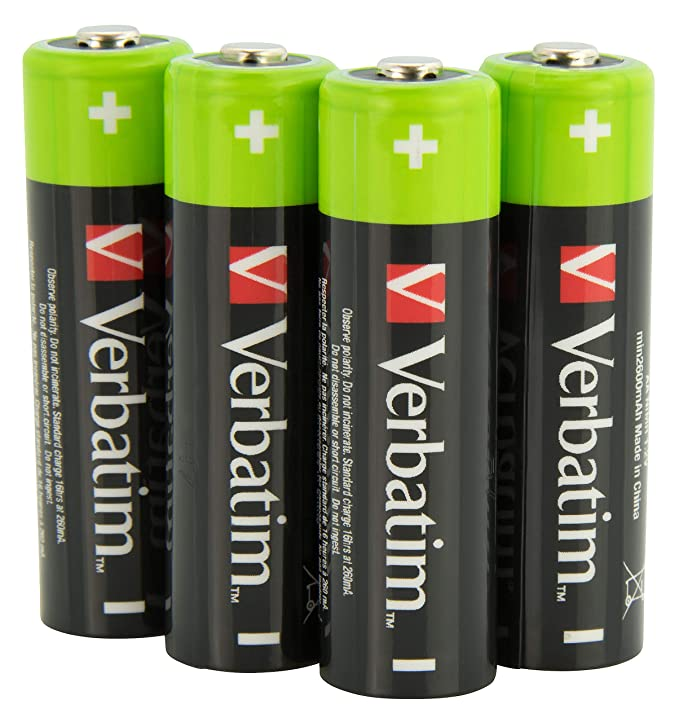 AA Rechargeable 2500mAh 4pack