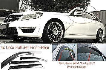 AC WOW, 4 deflettori d'Aria compatibili con Mercedes Classe C W204
