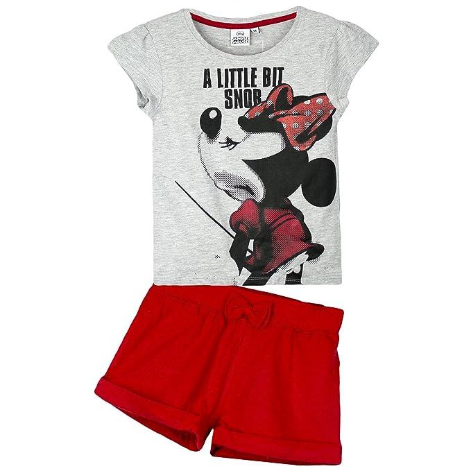 51f5084c8 Disney Minnie Mouse Niñas Verano Set Pantalones cortos