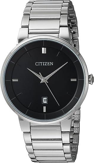 Amazon.com: Citizen Reloj de pulsera de acero inoxidable ...