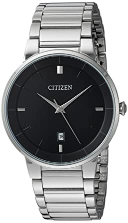 Amazon.com  Citizen Men s Quartz Stainless Steel Watch aa6abf6516a5