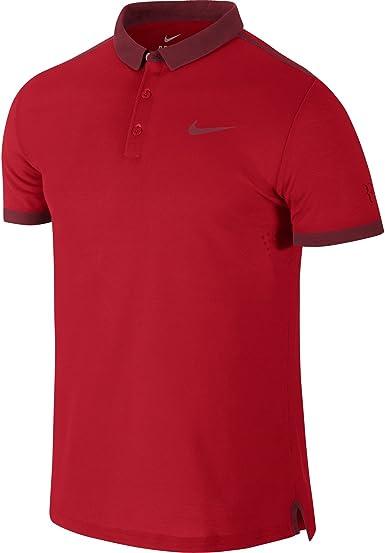 Nike Polo Camiseta Roger Federer Advantage Premier, Hombre ...