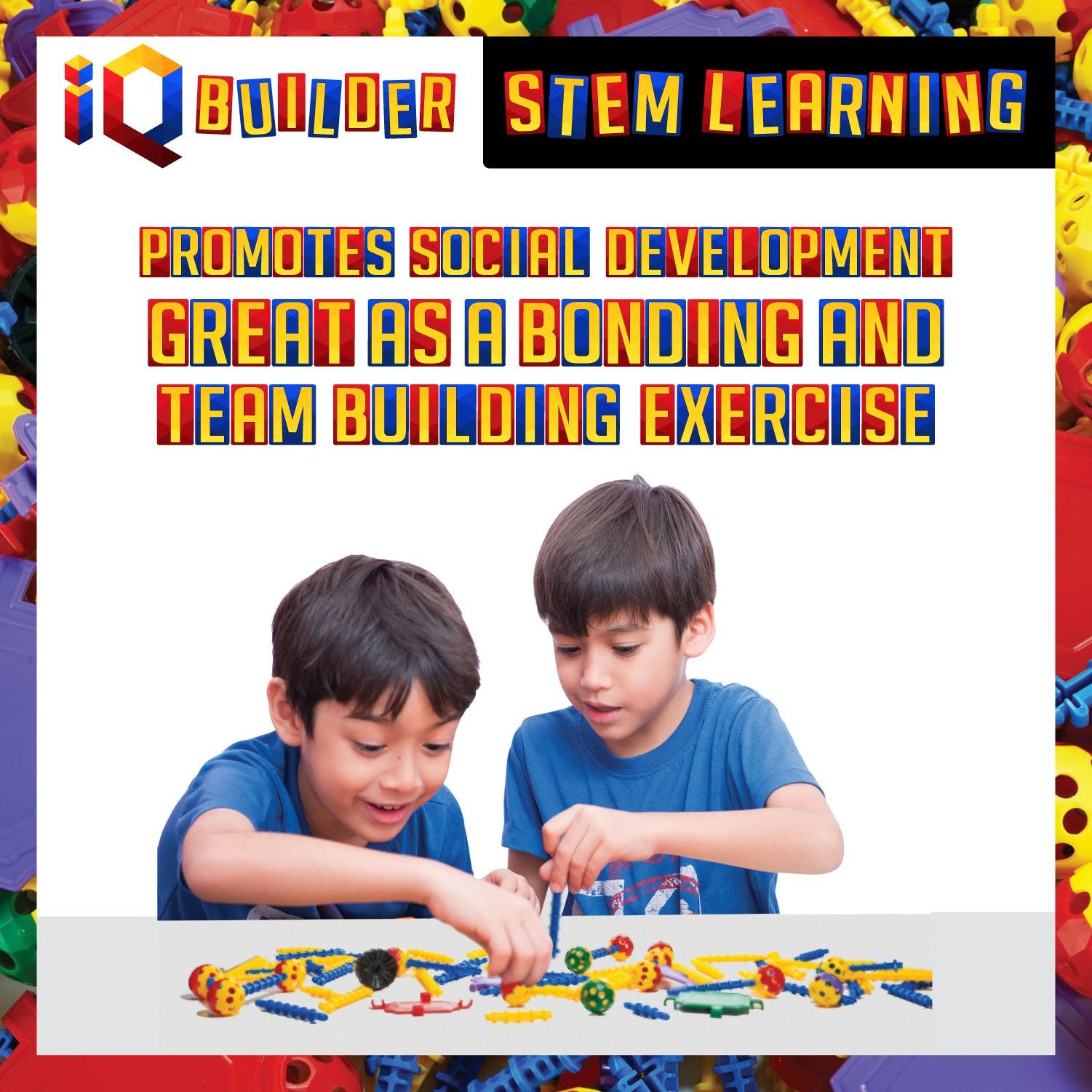 IQ BUILDER | STEM Learning Toys | Creative Construction ...