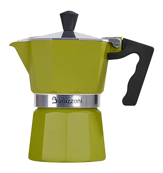 Barazzoni la cafetera cierran la cafetera colorata 1 Taza ...