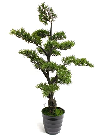 Kunstlicher Bonsaibaum Gross Bonsai Baum Schale 136 Cm Amazon De