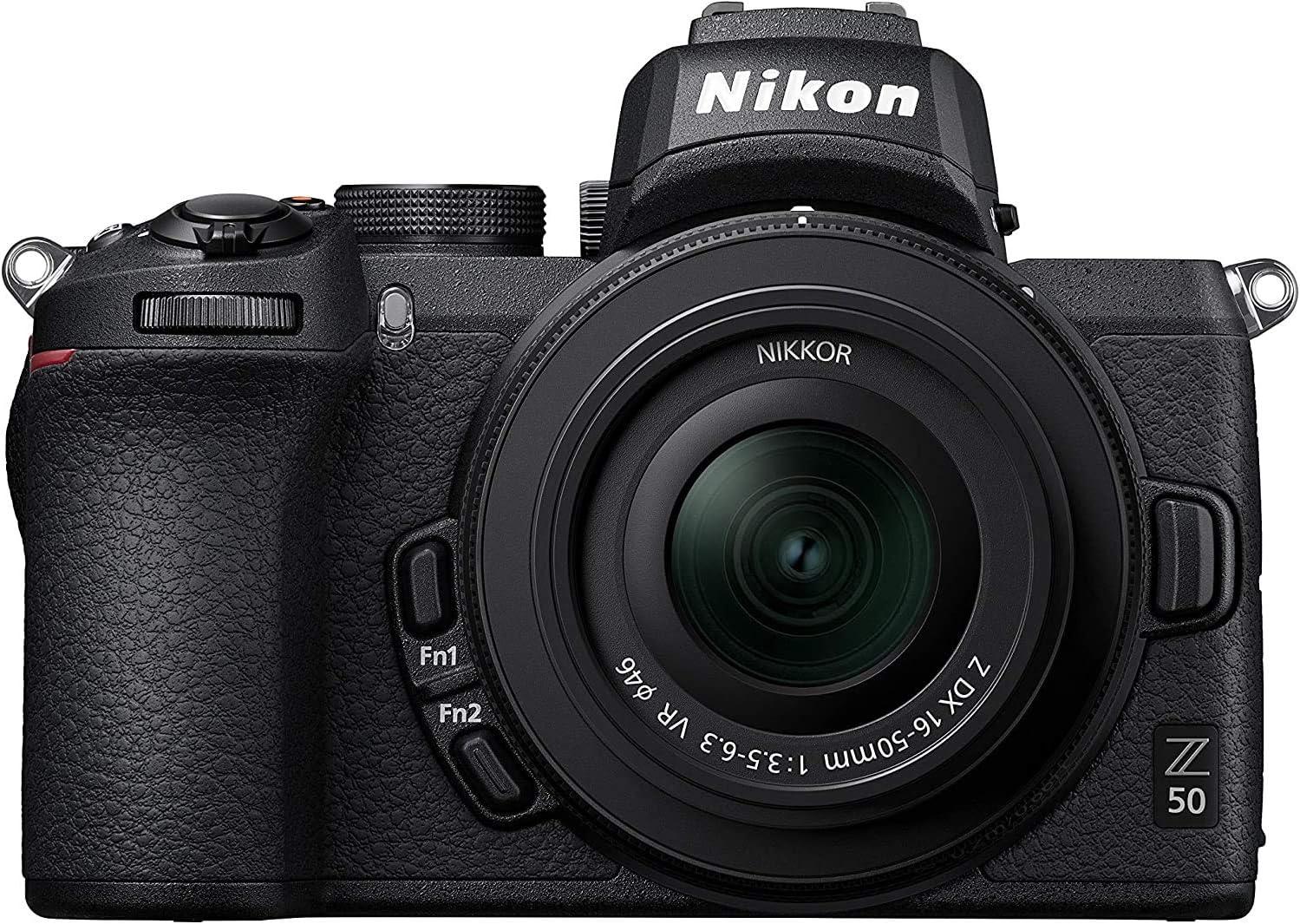 Nikon Z50 - Cámara sin Espejo con Objetivo 16-50 DX VR