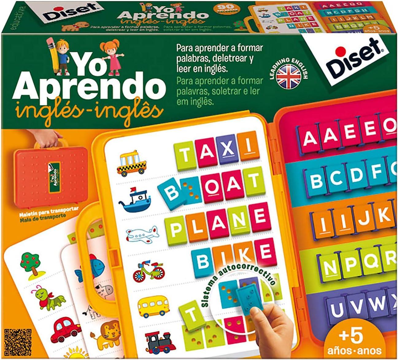 Diset- Maletín, 31.8 x 26.2 x 6.1 (63727): Amazon.es: Juguetes y juegos