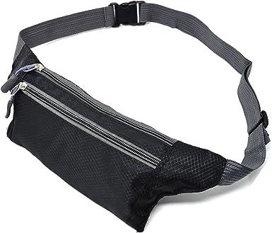 Canvas Money Belt Fanny Bum Travel Bag Waist Pack Sport Pouch Hiking Running