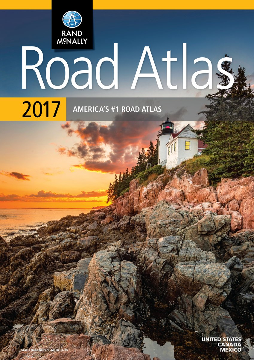 Rand McNally Road Atlas United States Canada Mexico Rand - Usa road atlas