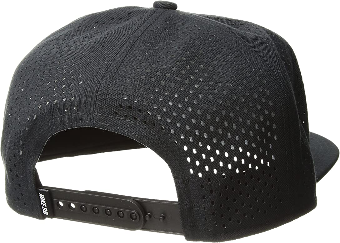 Nike Gorra SB Performance Pro Negro Negro y Plateado Talla:Talla ...