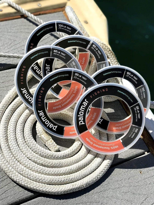 Triple Fish 100/% FLUOROCARBONE Leader environ 9.07 kg test 20 lb TFF-B100-20 100 YDS